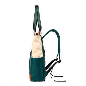 Image 4 - Waterproof Fashion Laptop Backpack Women Backpack for Laptop 15 15.6 inch Female Double Shoulder bag 2019