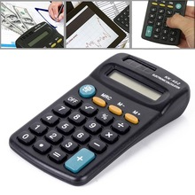 8 Digit Calculator Office Finance Calculator Battery Powered Mini Electronic Calculator Student Stationery Supplies