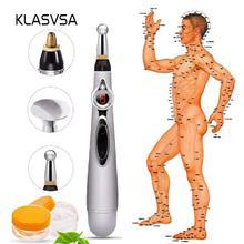 KLASVSA Electronic Laser Pen Meridians Massage Energy Body Therapy