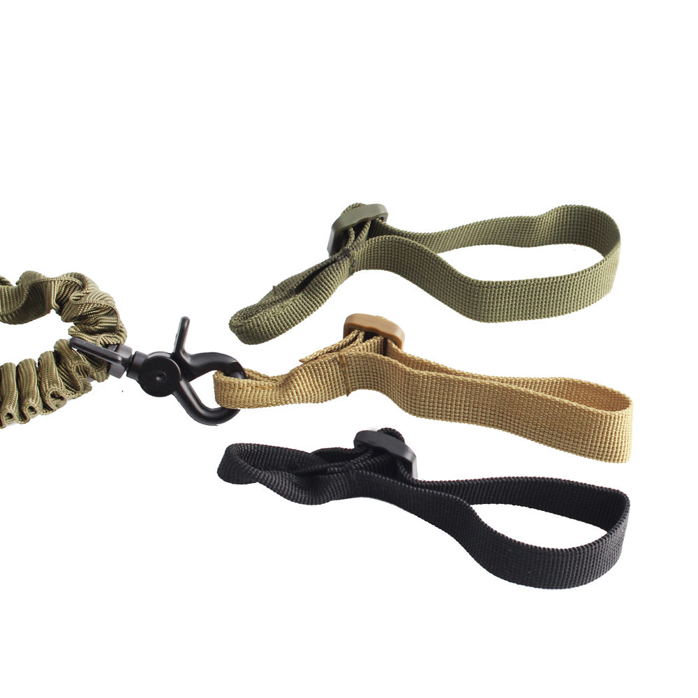 1 Pcs Buttstock Sling Mount Strap Loop Adapter Webbing Rifle Attachment Adjustable Tactical Gun Sling Airsoft Sling