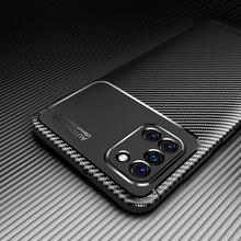 Phone Case for Samsung Galaxy A31 Case Cover Carbon Fiber Soft TPU Silicone Shockproof Bumper Case for Samsung Galaxy A31 A 31
