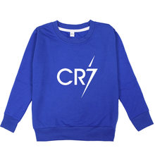 Cr7 cristiano ronaldo fashion sport boys coat casual kids toddler