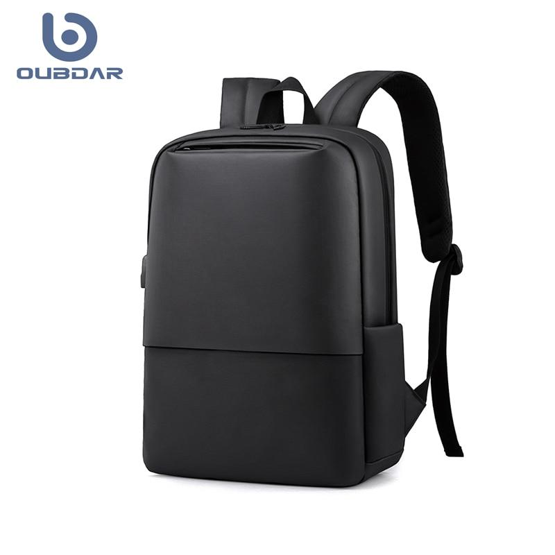 OUBDAR 2020 New Anti Theft Men Back pack Laptop Backpacks School Fashion Travel Male Mochilas USB Charging Schoolbag Unisex bag 1