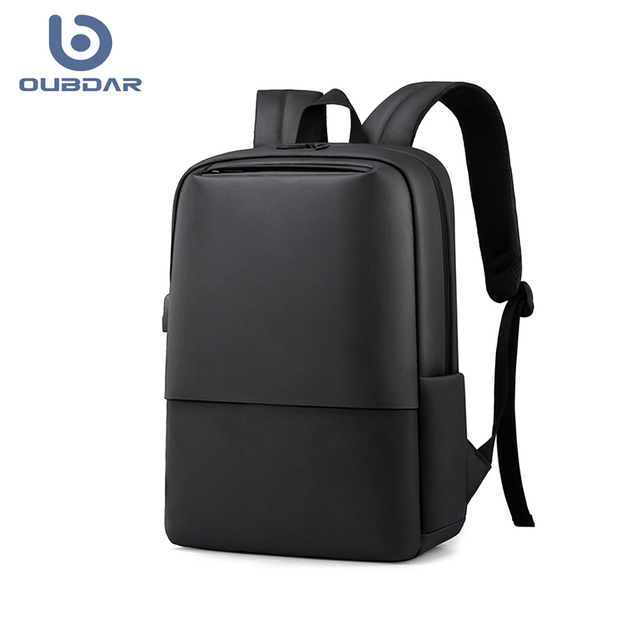 OUBDAR 2020 New Anti Theft Men Back pack Laptop Backpacks School Fashion Travel Male Mochilas USB Charging Schoolbag Unisex bag 1