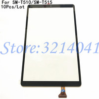 10Pcs/Lot Top Quality New Touch Screen For Samsung Galaxy Tab A 10.1 2019 SM T510 SM T515 Touch Panel Digitizer Glass Sensor|Mobile Phone Touch Panel| |  -
