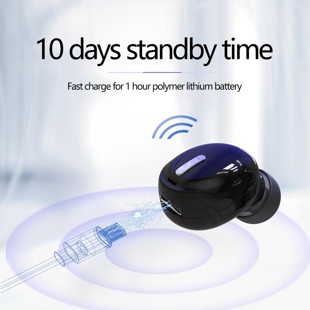 Mini X9 bežične bluetooth slušalice za slušalice sportske igraće - Prijenosni audio i video - Foto 3