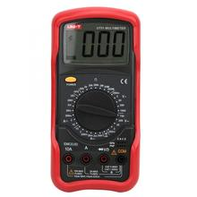 UNI-T UT51 True RMS Digital Multimeter Resistance Capacitance AC DC Current Voltage LCD Display Low Voltage Prompt uni t digital multimeter ut890c ut890d true rms ac dc voltage current resistance capacitance frequency response 6000 count test