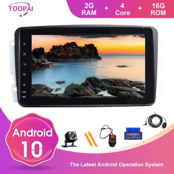 TOOPAI Android 10 For Mercedes Benz CLK W209 Vito W639 Viano Canbus Auto Radio GPS Navigation SWC Car Multimedia Player IPS DSP image