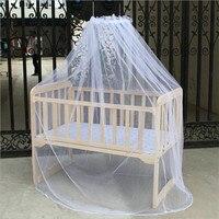 Bebê mosquito net malha de verão cúpula quarto cortina redes recém-nascidos crianças dossel portátil suprimentos cama