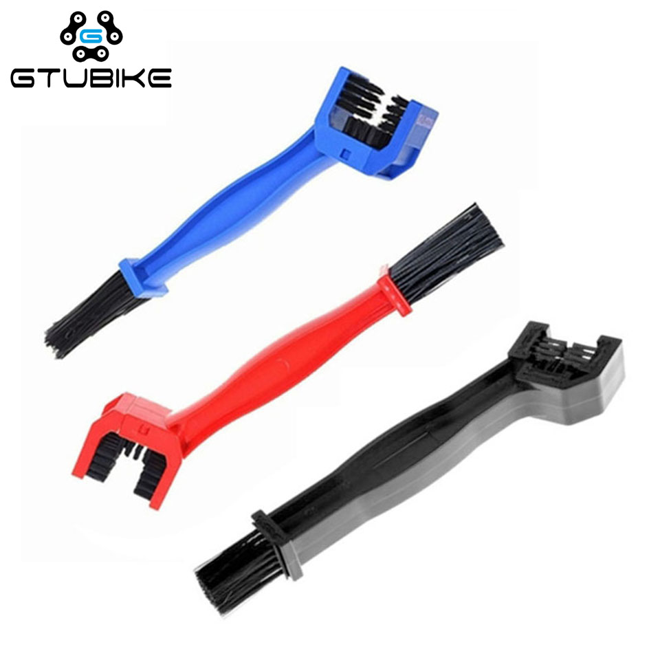 Motorcycle Bicycle Chain Cleaning Brush Brake Chain Cleaner Dust Dirt Remover