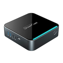 Genuino Windows 10 Mini PC Box Intel J3455 8GB RAM 128GB WiFi Bluetooth 1000M oficina LAN Juegos de ordenador PC PK Beelink J34 T34