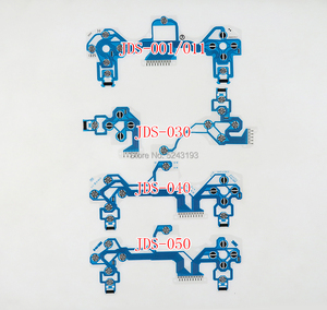 Image 1 - PS4 Slim pro 컨트롤러 용 전도성 필름 키패드 플렉스 케이블 JDS 001 011 030 040 050 교체 버튼 리본 회로 기판