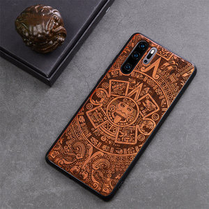 Image 4 - Wood Phone Case For Huawei P30 Lite P30 P20 Pro Luxury Cover For Huawei Honor 20 10 v20 9x mate 30 Pro Wooden Slim Case Cover