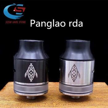 цена на panglao rda Vape Tank 24mm electronic smoke coil Spare glass for big vape Electronic Cigarette Vape Mod 40-120W ELDIABLO rda