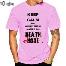 Camiseta con estampado de dibujos animados para hombre y mujer, camisa Unisex de moda con mensaje de