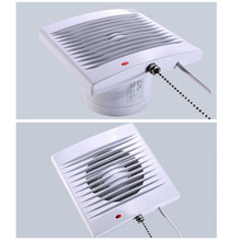Dapur Extractor Aliran Udara Exhaust Fan Blower Ventilasi Shower Toilet 5 Inch(China)