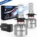 Bevinsee X6 Anti-EMC Headlight LED H7 H4 8000Lm 60W Car Lamps 9005 HB3 9006 HB4 H11 P13W PSX24 Auto LED Bulbs HB3 Fog Light