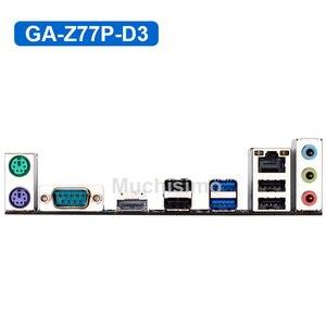 Image 4 - Gigabyte GA Z77P D3 Motherboard LGA1155 DDR3 USB3.0 32G Z77 Z77P D3 Z77P D3 Desktop Original Used Mainboard SATA3 Work Steady
