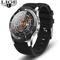Reloj inteligente de lujo con Bluetooth  reloj inteligente deportivo con control del ritmo cardíaco y del sueño para hombre con llamadas  recordatorios y vibración