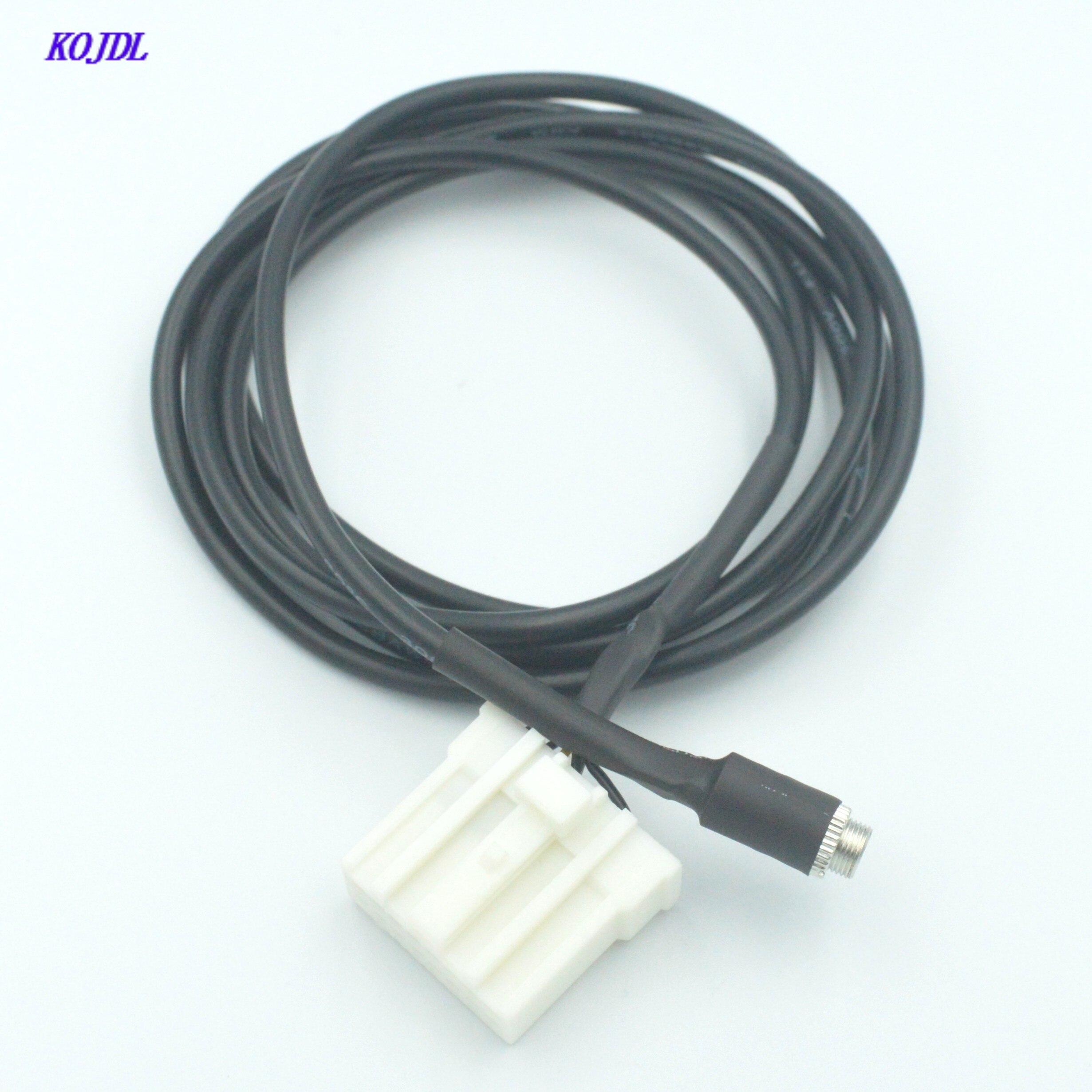 Автомобильный радиоприемник 3,5 мм Aux аудио входной кабель гнездовой разъем 1,5 м провод для Mazda 2 3 5 6 KOJDL