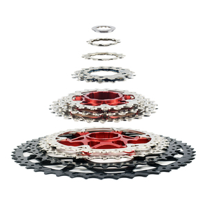 Image 2 - MTB 10 11 12 Speed Cassette Wide Ratio Freewheel Mountain Bike Sprocket 11 40T 42T 46T 50T Compatible with Shimano Sram Sunrace