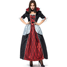Halloween Costume Adult Woman Vampire Darkness Victorian Blood Countess Material Item Type Source Characters Brand Name Gender(China)