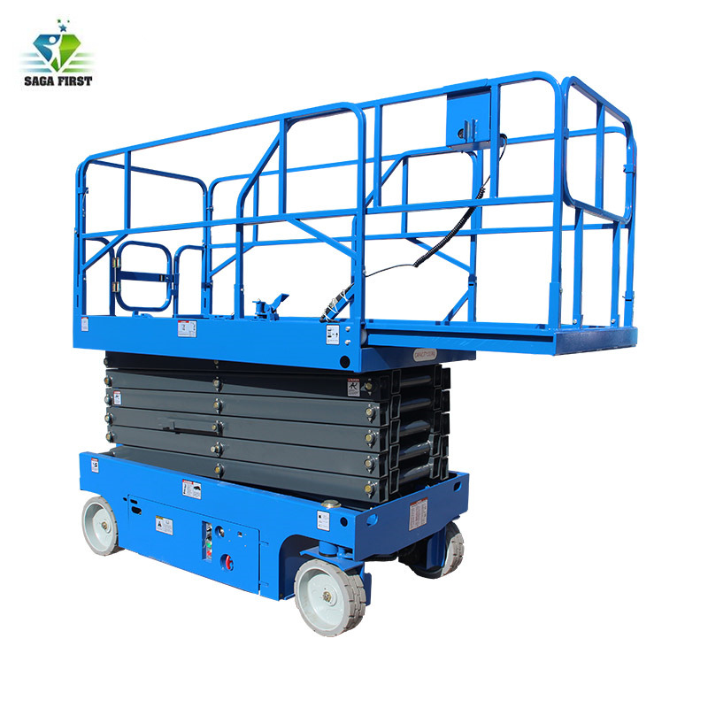 2018 New China Supplier Hydraulic Self Propelled Scissor Lift  Factory Price With CE For Hot Sales Very Good Quality