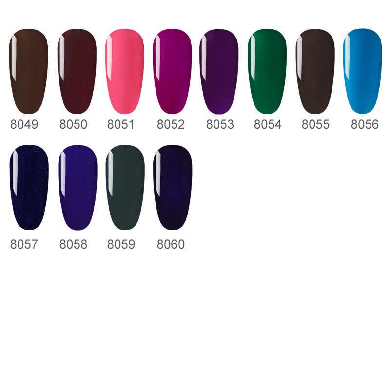 NAILWIND Gel esmalte de uñas Base superior necesita lámpara LED UV Color puro Semi permanente para manicura arte barniz pintura clavo híbrido Gel