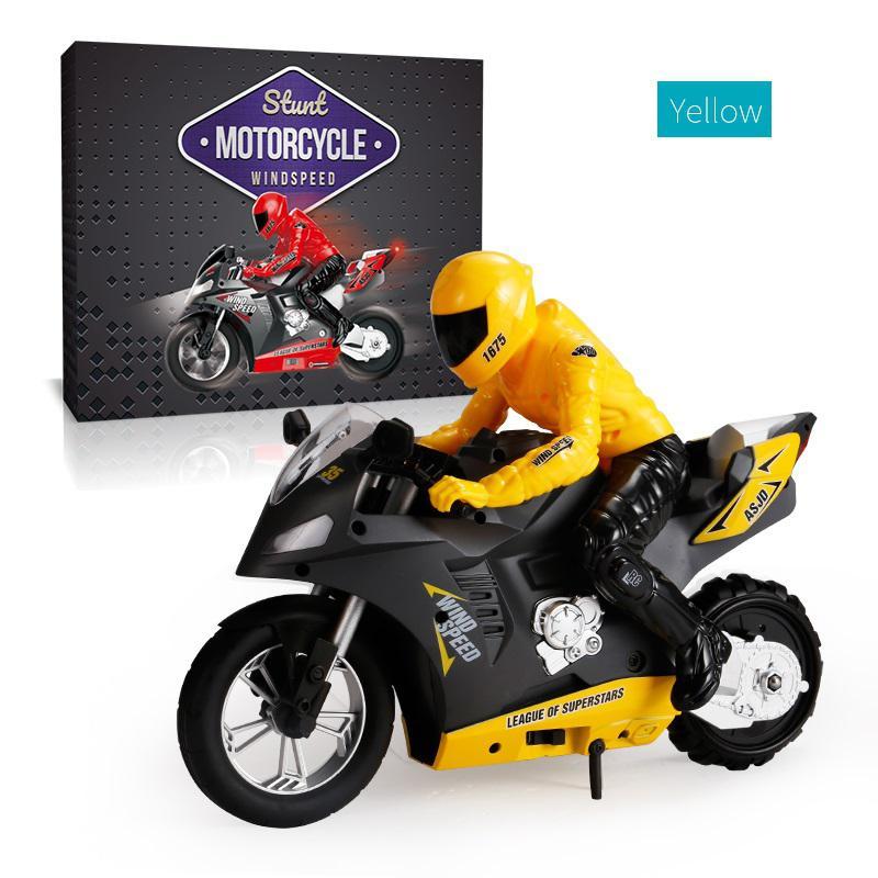 RCtown DG-801 1/6  Self-Balancing RC Motorcycle 6 axis of gyroscope Stunt Racing Motorcycle Plastic Mini Motorcycle Toy