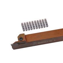 MGEHR2525 MGEHR2525-2T15/3T30/4T35/5T40 support rainurage, matériau en acier à ressort MGMN200-500 CNC, Insert de tour pour outil de tournage