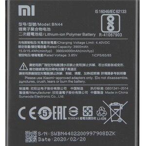 "Image 4 - Oryginalna bateria zamienna do Xiaomi Mi Redmi 5 plus 5.99 ""Redrice 5 Plus BN44 oryginalna bateria do telefonu 4000mAh"