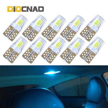 10pcs W5W T10 194 168 LED Light Auto Interior Bulb Car Lamp For mazda 3 6 gg gh cx-5 rx8 cx7 323 2 5 8 bmw x5 e70 e91 e34 image