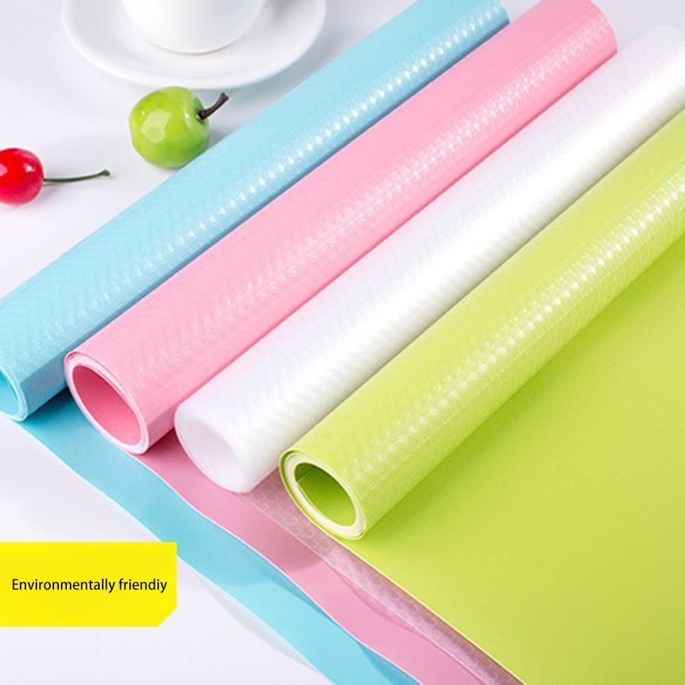 150*45cm Kitchen Table Mat Waterproof Moisture-proof Drawers Cabinet Shelf Liners Non Slip Cupboard Placemat Food Pad