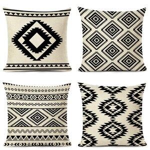 Ethnic Geometry Cushion Cover