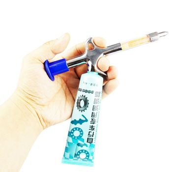 Dispositivo de grasa de bicicleta pistola de grasa de bicicleta Mini boquilla de reparación de accesorios