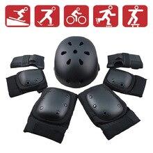 Adult children's balance wheel skating torsion car skating ski wheel skateboard protective gear set helmet knee pads