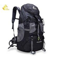 50L Zaino Trekking Sacchetto di Arrampicata Allaperto Zaino di Campeggio Trekking Borsa Sportiva Impermeabile Zaini Borsa di Viaggio Arrampicata Zaino