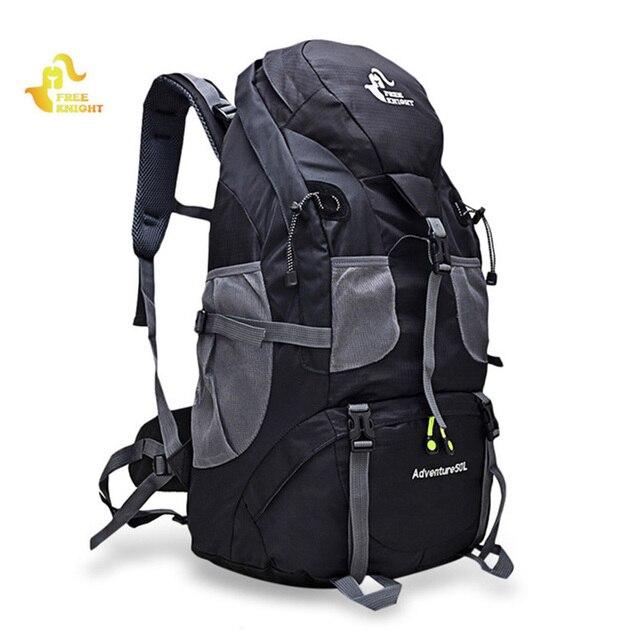 50L 하이킹 배낭 등산 가방 야외 배낭 캠핑 트레킹 방수 스포츠 가방 배낭 가방 등산 여행 배낭