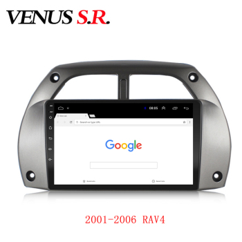 VenusSR Android 9.1 Car DVD Player GPS Navigation Multimedia For Toyota RAV4 2001-2006 radio car stereo BT WIFI image