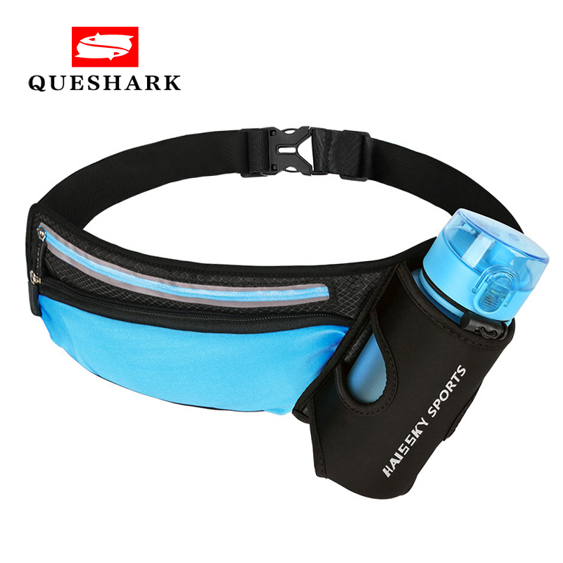 Running Waist Pack Outdoor Sports Hiking Racing Gym Fitness Lightweight Hydration Belt Water Bottle Hip Marathon Waist Bag