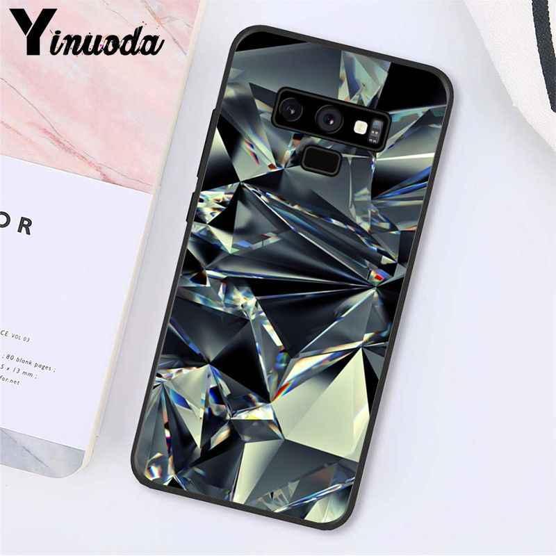Yinuoda Geometrica Oro Viola Rosa Cassa Del Telefono Del Diamante Per Samsung Galaxy A50 S10 S9 Più Note9 8 Note7 5 4 3