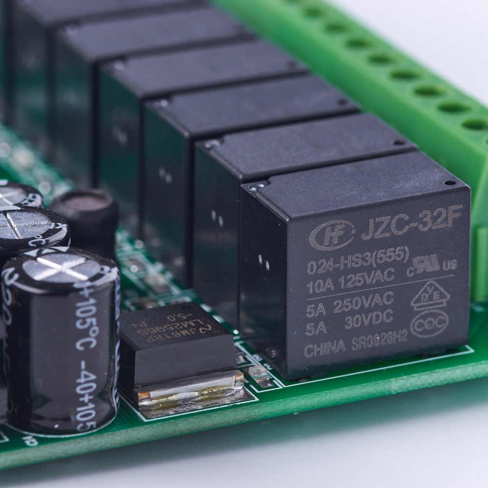 Plc وحدة تحكم منطقية قابلة للبرمجة plc مع الضميمة 20MR FX2N 12 الإدخال 8 الناتج 0 ~ 10V 2 إعلان التتابع التلقائي تحكم
