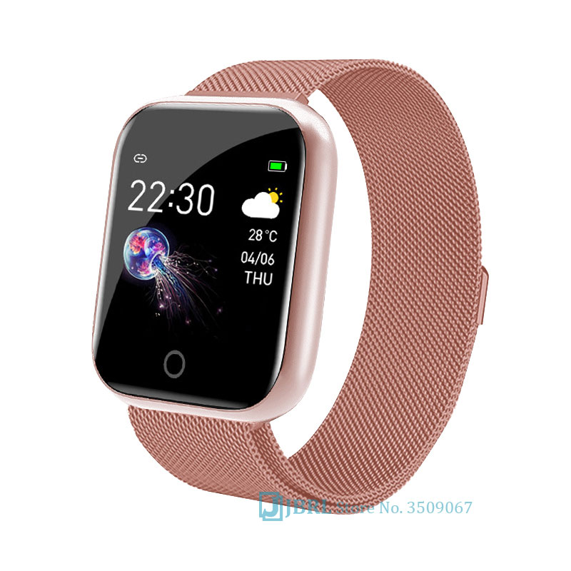 New Fashion Smart Band Women Men Smartband For Android IOS Wristband Smart Bracelet Fitness Tracker Brand Bluetooth Smart-band image