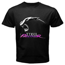 Men T shirt Steel Panther Rock Band Logo Fashion Graphic Tee funny t-shirt novelty tshirt women(China)
