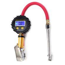 Digital Car Tire Air Pressure Inflator Gauge LCD Display LED Backlight Vehicle Tester Inflation Monitoring цены