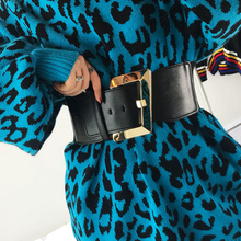 Fashion Corset Belt Plus Size Belts For Women Waist Elastic Cummerbund Black Wide Stretch Ceinture Femme Big Dress Belt 2020