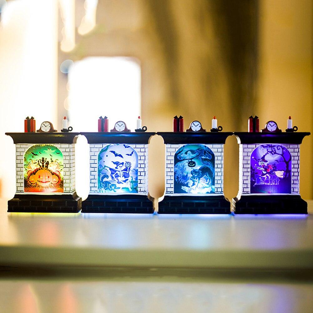 Romantic LED Night Light Electronic Best Gift Battery Lantern Halloween Flameless Wedding Flickering Home Pumpkin Light