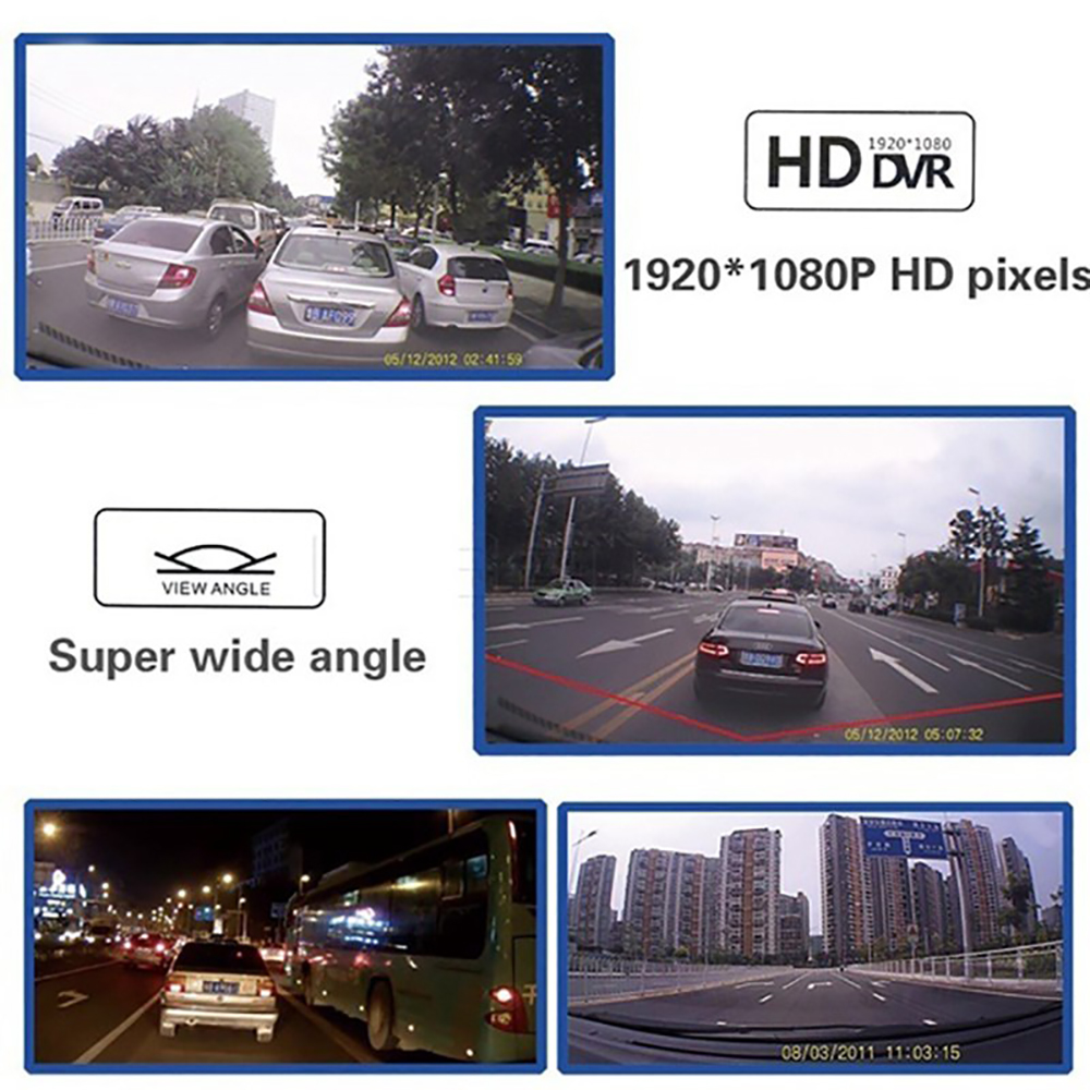 VicTsing 2,2-zoll Auto Recorder DVR Kamera Volle HD Bildschirm 1080 P/720 P Nachtsicht Auto Video camcorder Recorder Auto Vorne Kamera