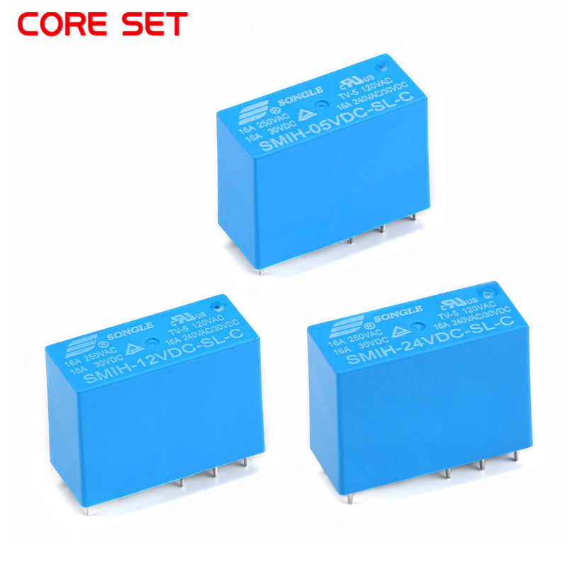 SMIH-05VDC-SL-C SMIH-12VDC-SL-C SMIH-24VDC-SL-C 05 <font><b>12</b></font> 24 V Relays <font><b>16A</b></font> <font><b>250V</b></font> 8pin A Set Of Conversion 14FH Compound type image