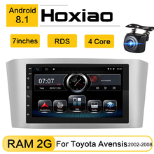 Android 8.1 Car Radio Player Per Toyota Avensis 2002 2008 2007 2006 2005 7 pollici 2DIN di Navigazione GPS 2G RDS Car Multimedia Player